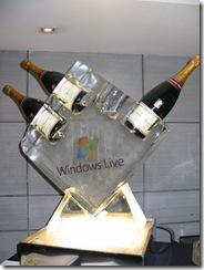 Champagne a gogo pour le lancement de la VOS sur XBOX 360