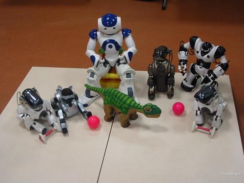Robots_Nao_Pleo_Aibo_Robosapien