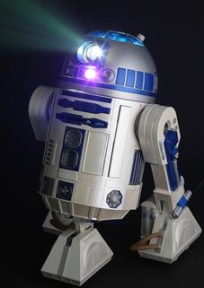 R2D2_video_projector