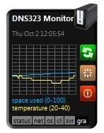 DNS-323_Nas_Monitor
