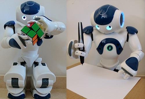 Nao robot Rubik's cube