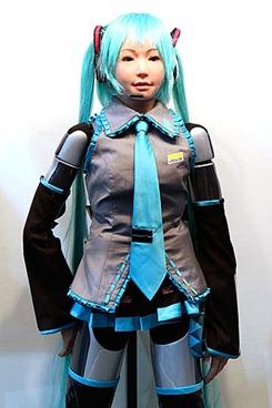 HRP-4c Vocaloid Robot