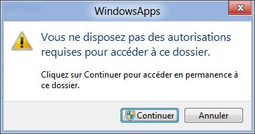 WindowsApps_acces_folder