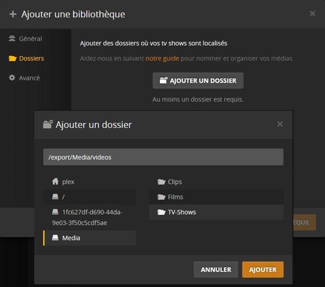 05.Plex_Media_Server_ajout_dossier_video