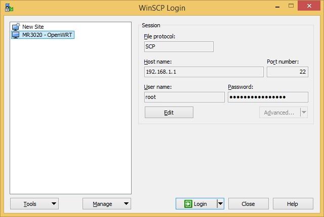 WinSCP_OpenWRT