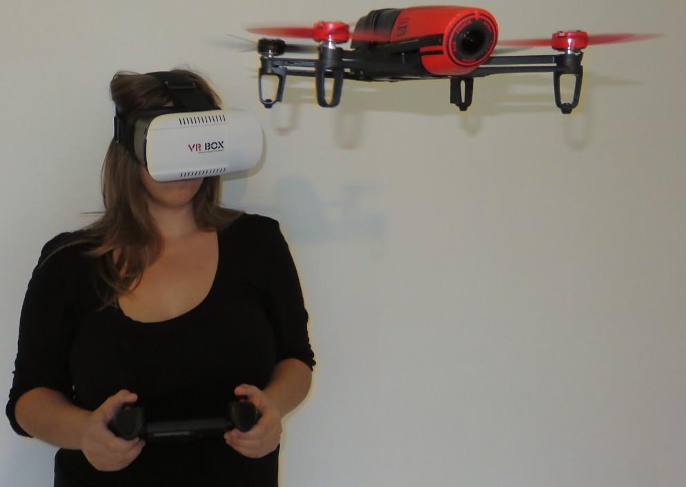 Parrot Bebop FPV DIY VR