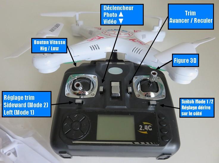 RC Drone BAYANGTOYS X8