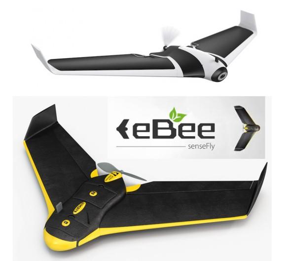 Parrot Disco VS eBee SenseFly drone aile fixe