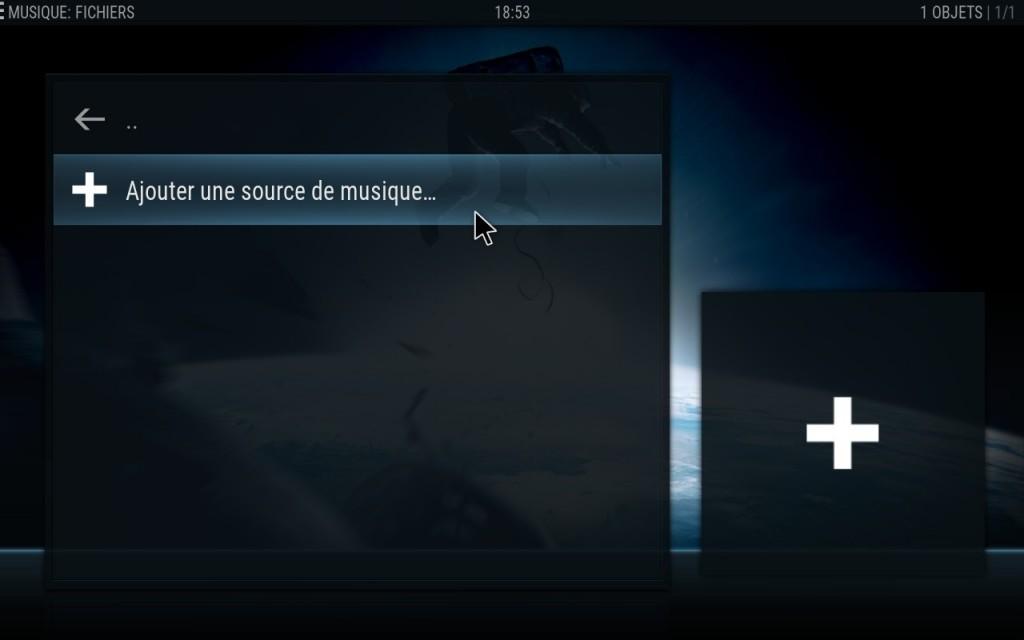 02.KODI_Ajout_source_Musique