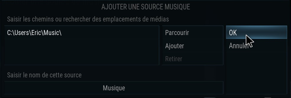 05.KODI_valider_source_Musique