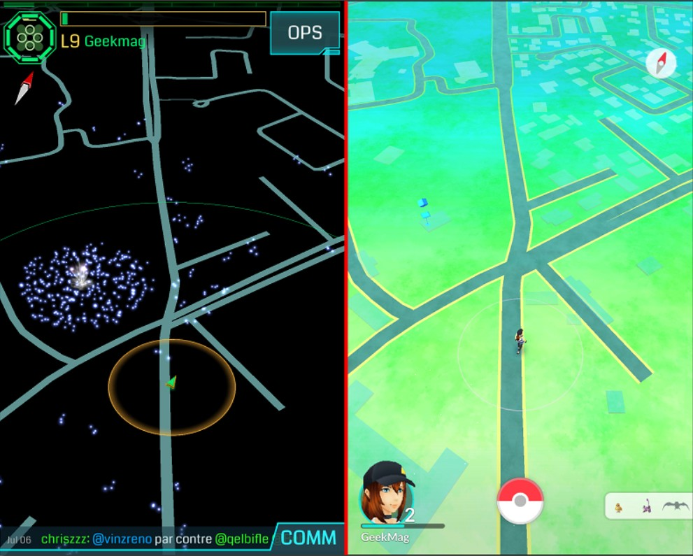 Ingress_VS_Pokemon-Go_map