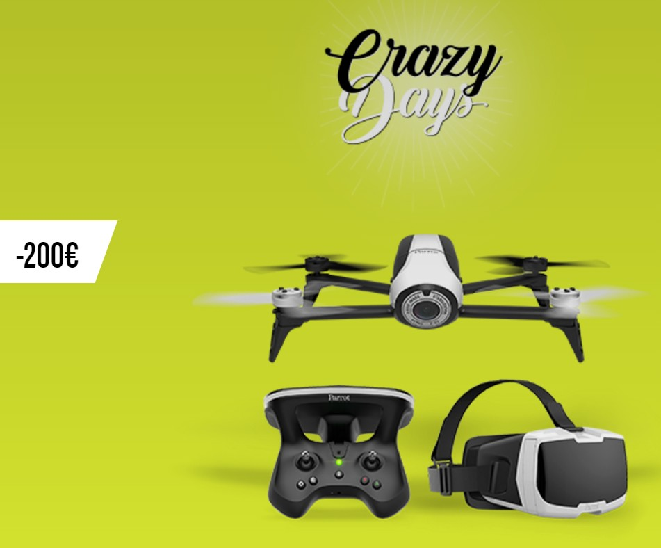 Black Friday Parrot Bebop 2 FPV Pack