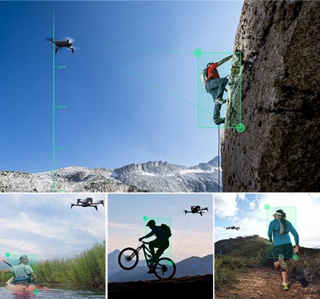 Fonction de suivi automatique Drone Parrot