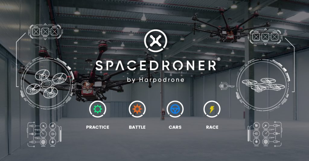 Spacedroner Harpodrone: FPV Racing Indoor